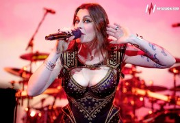 "Floor Jansen - NIGHTWISH's Floor Jansen Remembers 'Getting Sh*t From Audience': ""They'd Either Be Screaming SLAYER! or B**bs!"""