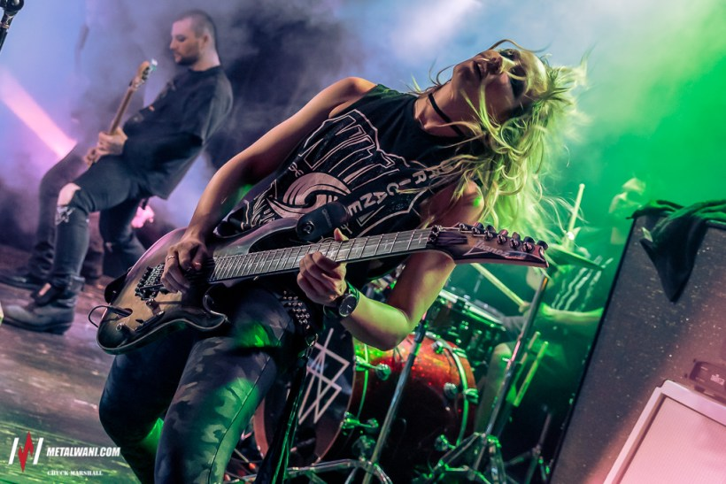 Guitar Collective 2018 10 - GIG REVIEW: Angel Vivaldi & Nita Strauss Live at The Loving Touch, Ferndale, MI