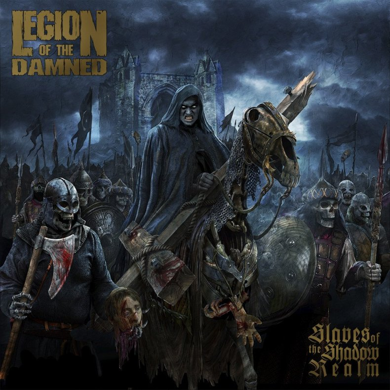 "Legion of the Damned SOtSR - REVIEW: LEGION OF THE DAMNED - ""Slaves Of The Shadow Realm"""