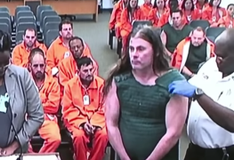 Pat Obrien - Watch CANNIBAL CORPSE Guitarist Wears Anti-Suicide Vest During First Court Appearance