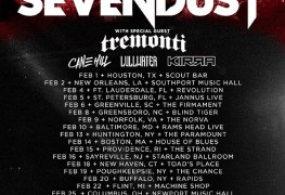 Sevendust US Tour - GIG REVIEW: SEVENDUST & TREMONTI Live at Rapids Theatre, Niagara Falls, NY