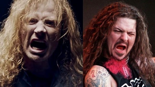 "dave mustainedimebag darrell - DAVE MUSTAINE Remembers Dimebag Nearly Joining MEGADETH: ""He Was a Better Guitar Player Than I Am"""