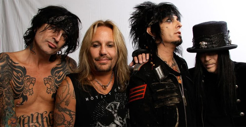 motley crue - Legendary MÖTLEY CRÜE & IRON MAIDEN Are Leading Rock And Roll Hall Of Fame Fan Vote