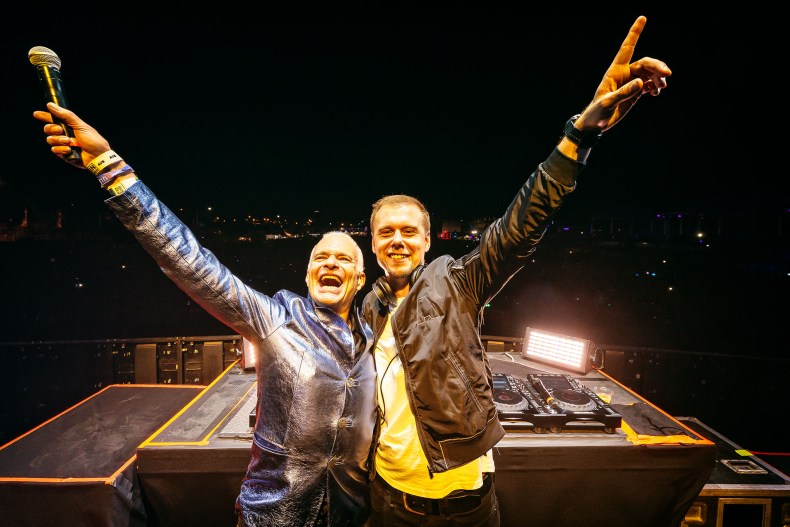 LEEROTHDAVID ARMIN - VAN HALEN Frontman on His Love For Dance Music Over Rock