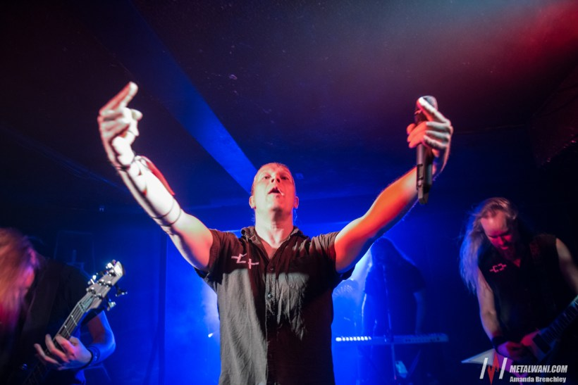 OmniumGatherum13042019 4 - GIG REVIEW: Omnium Gatherum, Orpheus Omega, Valhalore & Darklore Live at Crowbar, Brisbane
