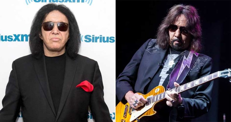 gene simmons ace frehley - KISS' Gene Simmons Calls Ace Frehley & Peter Criss 'Unreliable'