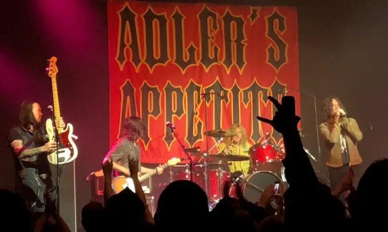Steven Adler 1 - Watch STEVEN ADLER Crush GUNS N' ROSES Classics at M3 Rock Festival