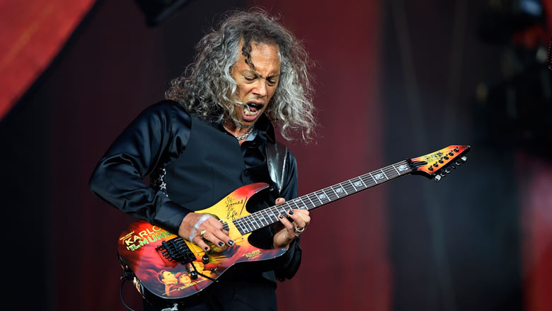 "Kirk Hammett - Kirk Hammett Shares Plans For Next METALLICA Album: ""Kicka*s Riffs"""
