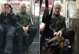 Roger Waters - PINK FLOYD's Roger Waters Seen Riding The Subway; Nobody Could Identify Him