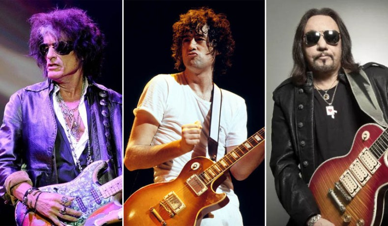 joe perry jimmy page ace frehley - Ex-OZZY OSBOURNE Guitarist Says Jimmy Page, Ace Frehley & Joe Perry Are Little Sloppy
