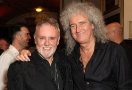 """may taylor - QUEEN Members Brian May & Roger Taylor Admit Mistakes In 'Bohemian Rhapsody': """"We Took Liberties"""""""