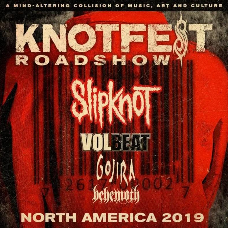 Knotfest - GIG REVIEW: KNOTFEST ROADSHOW Ft. Slipknot, Volbeat & Gojira Live at Darien Lake, NY