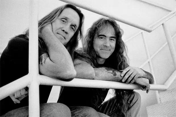Iron Maiden Nicko McBrain Steve Harris - Nicko McBrain on How Steve Harris Reacts When He Screws Up Classic IRON MAIDEN Songs Onstage