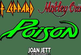 bands - MOTLEY CRUE, DEF LEPPARD, POISON & JOAN JETT U.S Tour Dates & Ticket Links Revealed