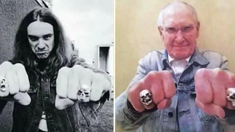 cliff burton ray burton - Late METALLICA Bassist CLIFF BURTON's Father Ray Burton Has Passed Away At 94