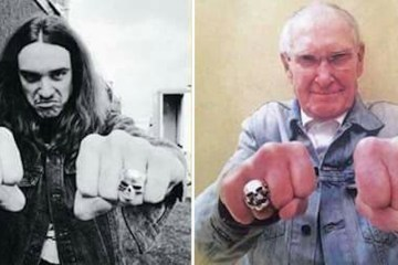 cliff burton ray burton - Late METALLICA Bassist CLIFF BURTON's Father Ray Burton Has Passed Away At 94