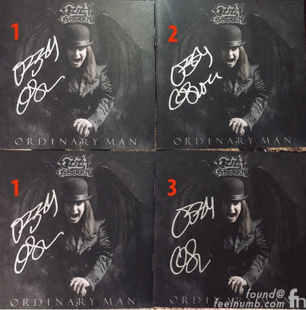 Ozzy - Sharon Osbourne Is Accused Of Scamming OZZY OSBOURNE Fans By Selling Fake Autographed 'Ordinary Man' Albums