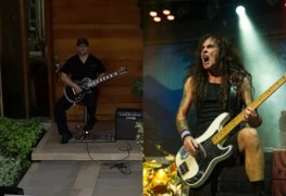 iron maiden quarantine - Watch This Bloke Smash IRON MAIDEN's 'Virus' In-front Of His House In Italy
