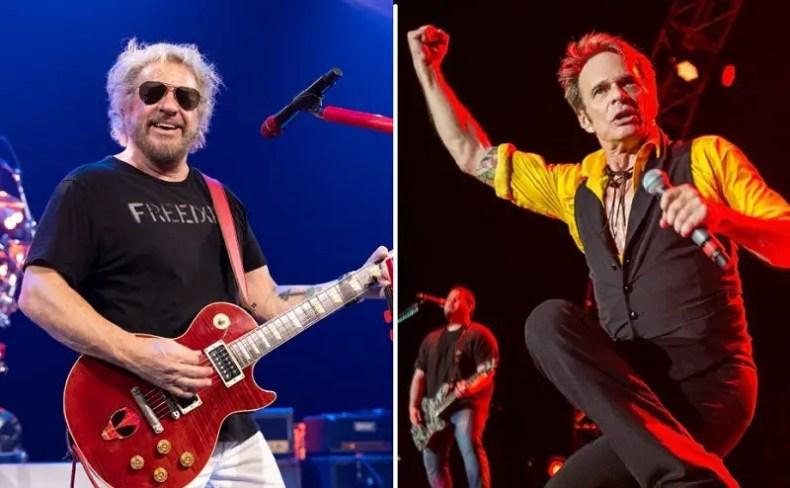 sammy hagar david lee roth 1 - Wolfgang Van Halen Calls Fan Division Between David Lee Roth & Sammy Hagar Dumb