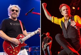 sammy hagar david lee roth 1 - VAN HALEN Producer Calls Sammy Hagar The Best Rock Singer Than David Lee Roth