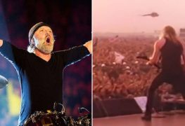 lars ulrich and moscow - Lars Ulrich Clarifies The Myth That 1.6 Million People Attended METALLICA's Moscow Gig In 1991