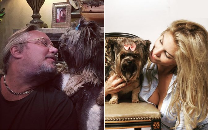 vince neil rain hannah - VINCE NEIL Looks Overweight In A New Photo; Pens Down An Emotional Goodbye Letter To Their Beloved Dog