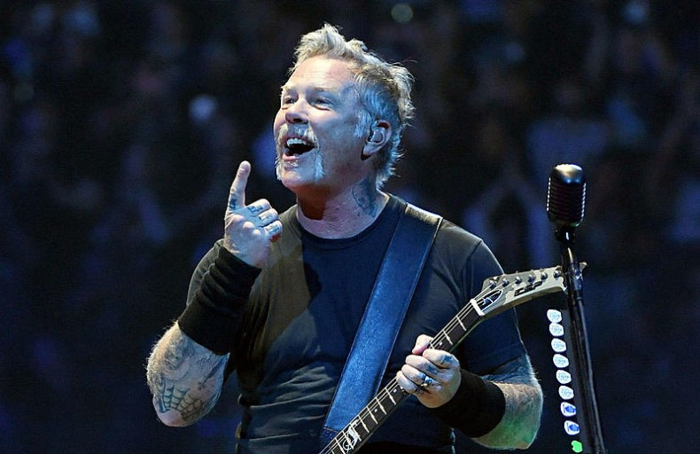 James Hetfield - James Hetfield Says Get Ready For New Music From METALLICA Today