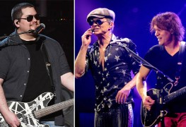 wolfgang eddie van halen david lee roth - WOLF VAN HALEN Recalls The Show That DAVID LEE ROTH Stops Singing To Break Up A Fight