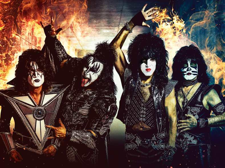 KISS - 5 Heavy Metal Bands that Launched Their Own Online Slot Games