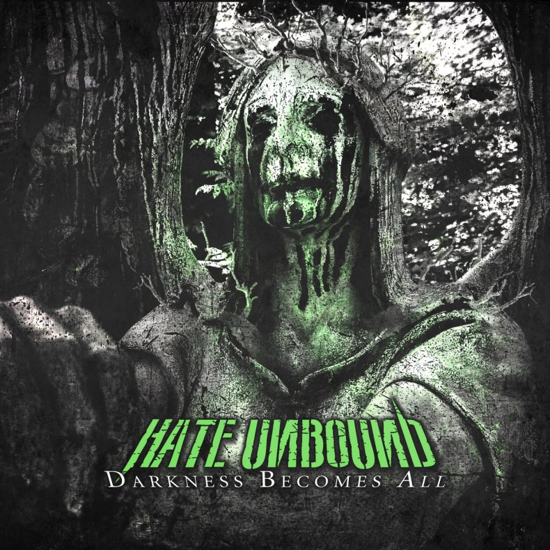 """HateUnbound DarknessBecomesAll Cover - REVIEW: HATE UNBOUND - """"Darkness Becomes All"""""""