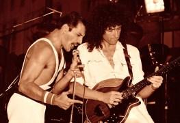 "brianmay freddiemercury scaled - QUEEN's Brian May Celebrates Freddie Mercury's 29th Anniversary: ""Missing You Freddie"""
