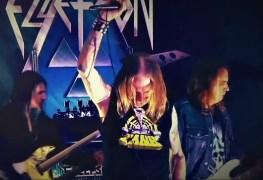 ellefson - Watch David Ellefson, Dave Lombardo & Bumblefoot Smash AC/DC Classic 'Riff Raff'