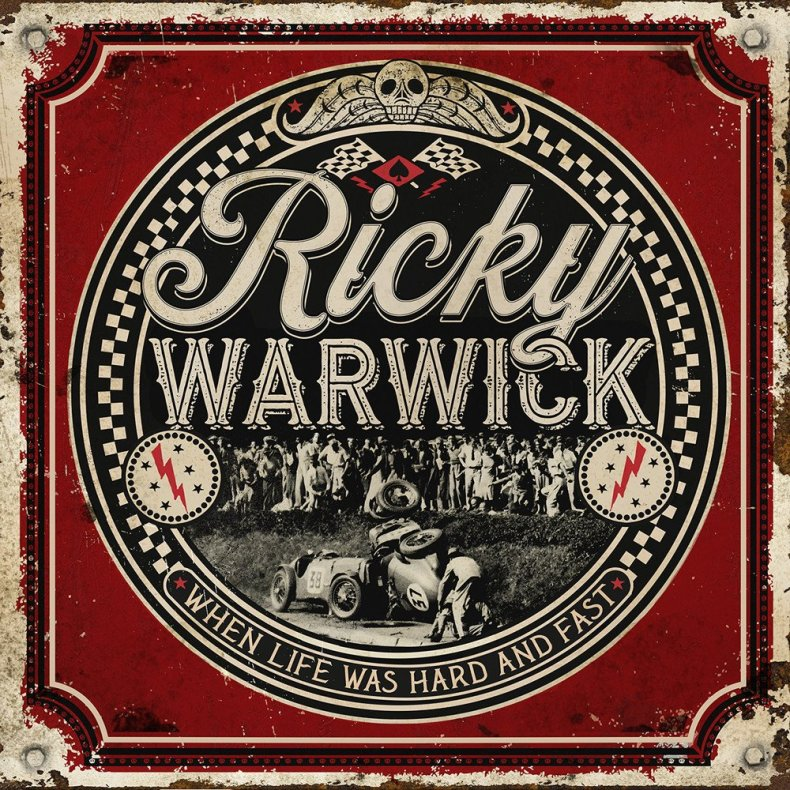 "Ricky Warwick - REVIEW: RICKY WARWICK - ""When Life Was Hard and Fast"""
