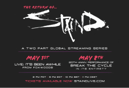 """Staind 3 - GIG REVIEW: STAIND - 20th Anniversary Performance of """"Break the Cycle"""""""