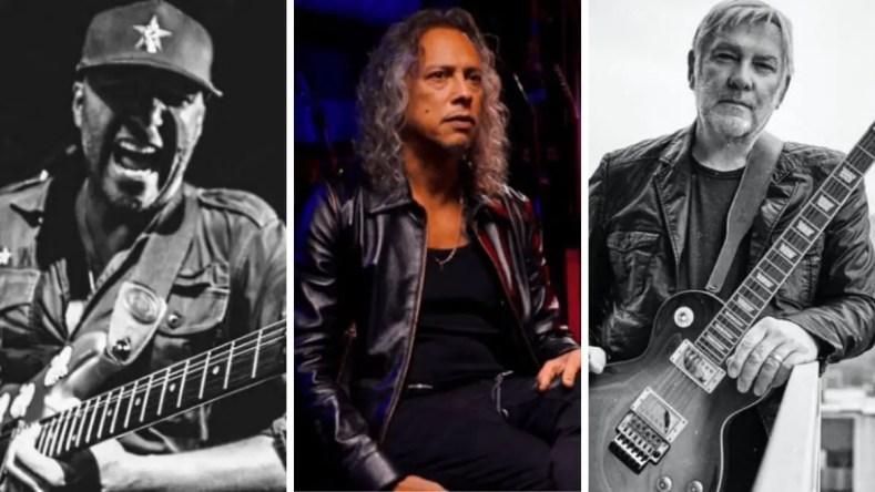 lifesonhammettmorello - Welcome New Supergroup Featuring Legendary Alex Lifeson, Tom Morello & Kirk Hammett