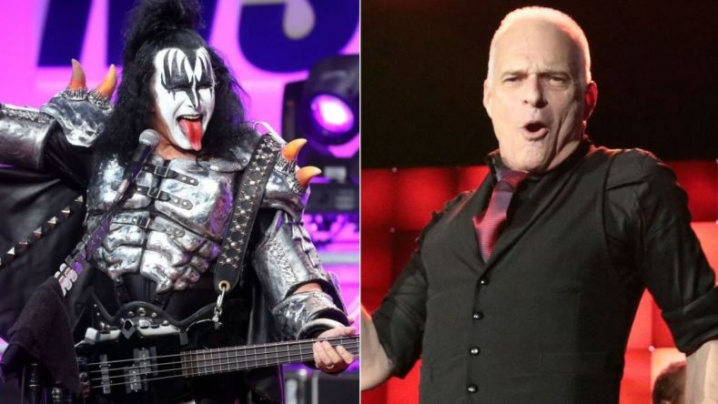 """gene simmons david lee roth 1280x720 1 - Gene Simmons Confirms KISS Dropped DAVID LEE ROTH As An Opening Act: """"I Don't Know What Happened To Him"""""""