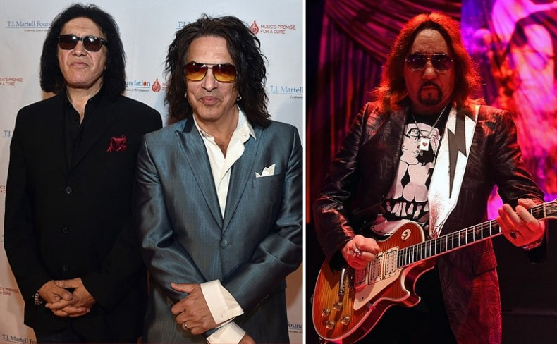 ace frehley gene simmons paul stanley - Ace Frehley Confirms He Is Ready For KISS Reunion With Paul Stanley & Gene Simmons