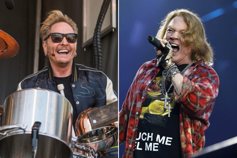 """matt sorum axl rose 1 - MATT SORUM on 'Pain in the A*s' Problems He Had to Deal With From AXL ROSE: """"His Upbringing Was Sh*t"""""""