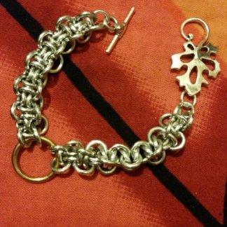 Hoodoo Bracelet with Oak leaf clasp