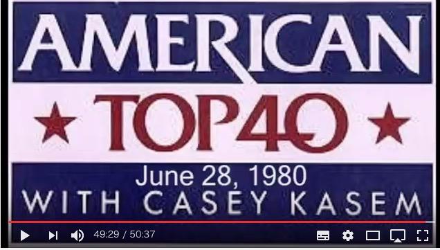 American Top 40 1980年の録音 | 昭和世代の思い出発掘!