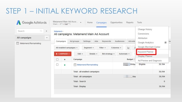 Google Adwords for Small Business - Slide10