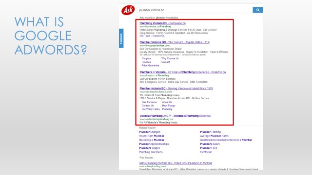 Google Adwords for Small Business - Slide3