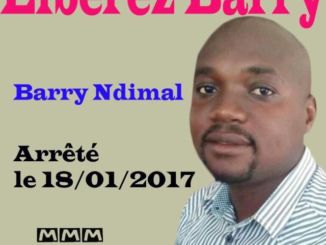 URGENT: Barry NDIMAL et les autres en liberté provisoire