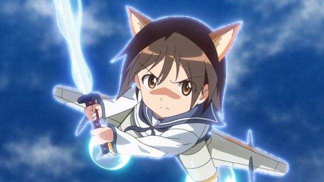 Strike Witches 2 12 Shin Reppuzan