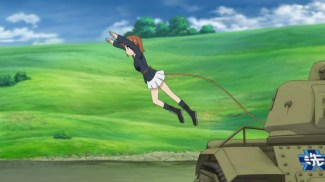 Girls und Panzer 11 Miho Flies (5)