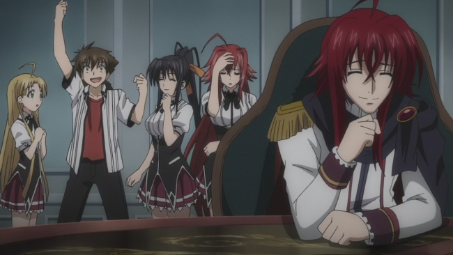 Even Sirzechs wishes he were Issei
