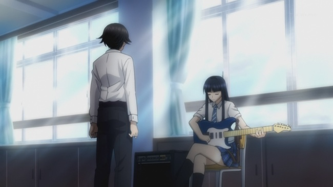 Kazusa teaches Haruki