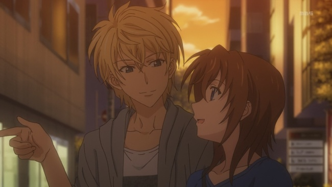 Golden Time-Surprise couple
