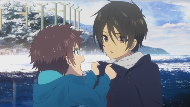 Nagi no Asukara-He hasn't changed