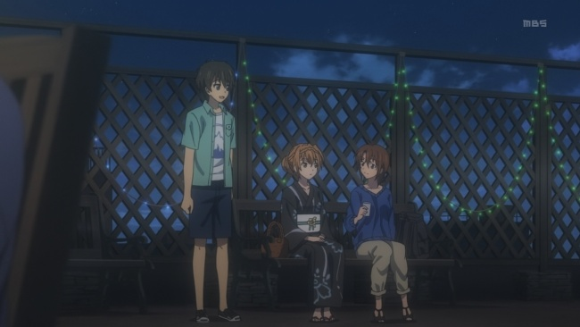 Golden Time-Becoming friends again